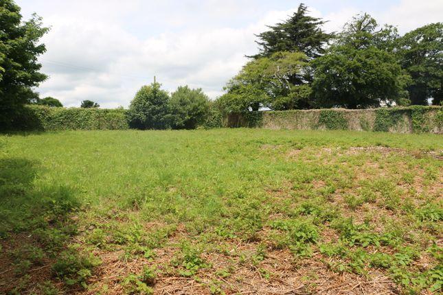 Thumbnail Land for sale in Tredethy, Wadebridge