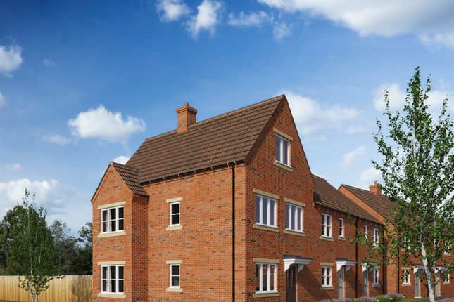 Thumbnail Town house for sale in Brick Kiln Road, Raunds, Wellingborough