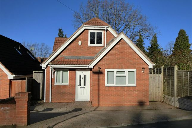 Thumbnail Detached bungalow for sale in Palmcourt Avenue, Hall Green, Birmingham