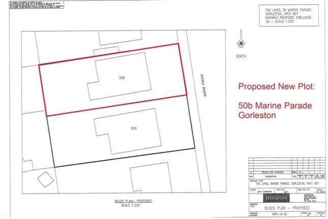 Thumbnail Land for sale in Marine Parade, Gorleston, Great Yarmouth