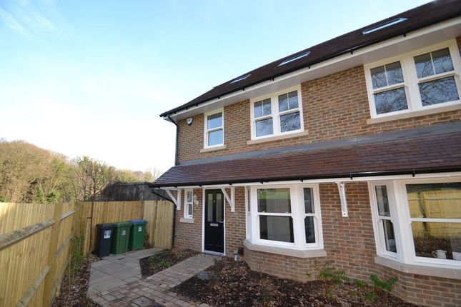 Thumbnail Town house to rent in Taylor Close, Garston, Watford