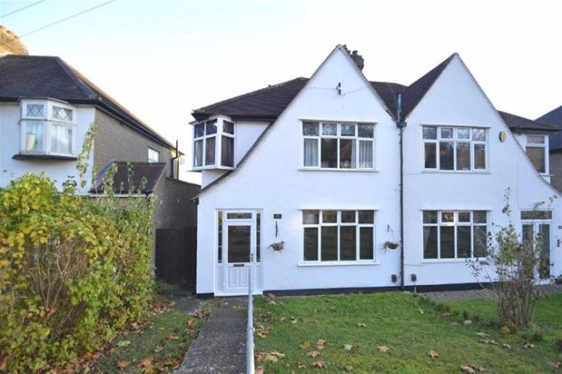 3 bed semi-detached house for sale in Winifred Road, Coulsdon
