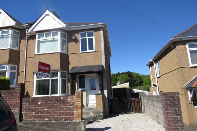 Thumbnail Semi-detached house for sale in Reddington Road, Plymouth
