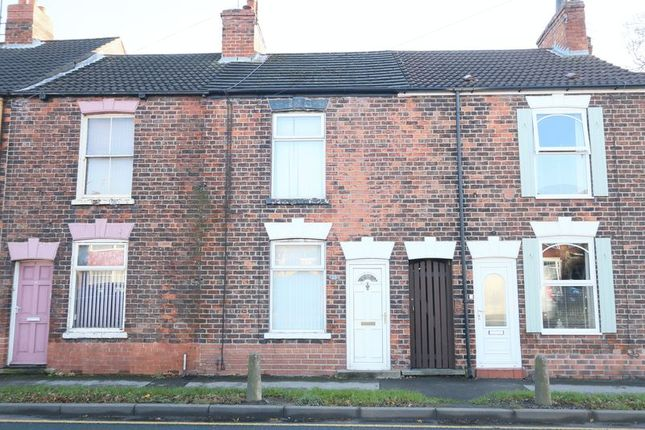 Thumbnail Terraced house for sale in West Parade, Leads Road, Sutton-On-Hull, Hull