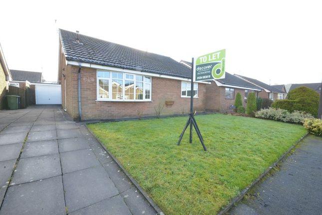Thumbnail Detached bungalow to rent in Victoria Avenue, Baxenden, Accrington