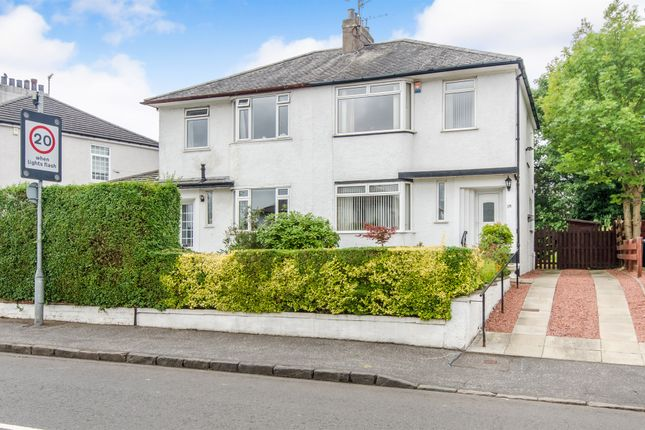 Thumbnail Semi-detached house for sale in Robslee Road, Thornliebank, Glasgow