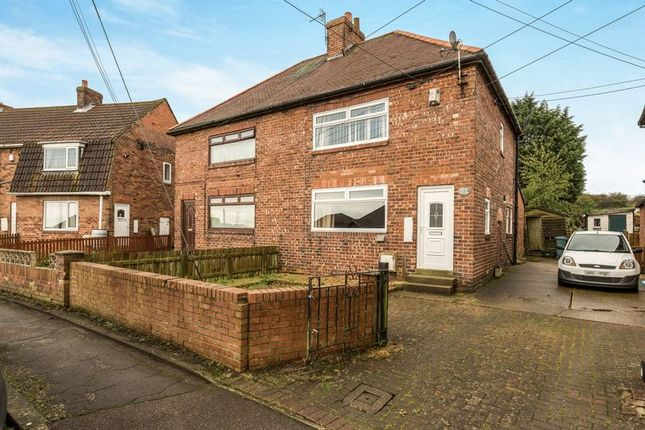 Thumbnail Semi-detached house for sale in St. Bede Crescent, Thornley, Durham