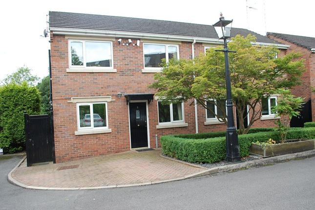 Thumbnail Semi-detached house for sale in Crawford Mews, Ashton-Under-Lyne