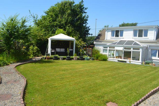 Thumbnail Detached bungalow for sale in Dyffryn Road, Ammanford