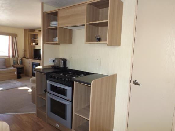 Kitchen of Devon Cliffs Holiday Park, Exmouth, Devon EX8
