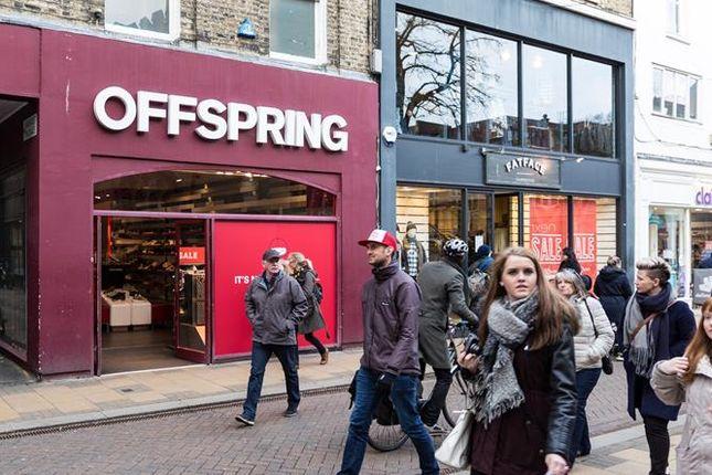 Thumbnail Retail premises to let in 9 Market Street, Cambridge, Cambridgeshire