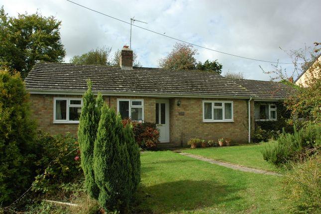 Thumbnail Detached bungalow for sale in Ratcliffs Garden, Shaftesbury