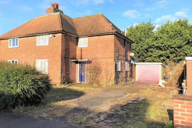 Thumbnail Semi-detached house for sale in Mill Road, Fareham