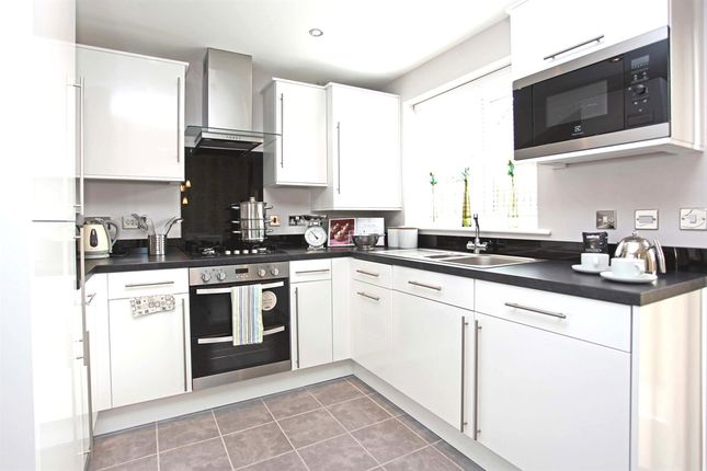 """Thumbnail Semi-detached house for sale in """"The Hanbury"""" at Bedale Court, Morley, Leeds"""