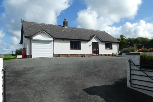 Thumbnail Detached bungalow for sale in Llanarth, Ceredigion