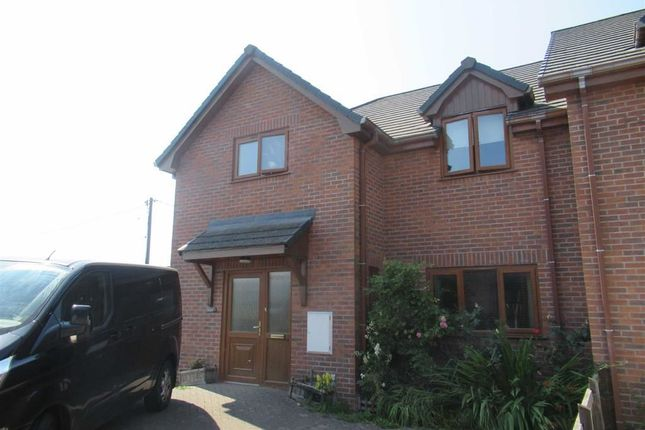 Thumbnail Semi-detached house to rent in 3, Parc Curig, Llangurig, Llanidloes, Powys