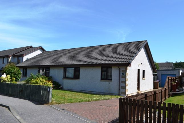Thumbnail Semi-detached bungalow to rent in 43 Mannachie Grove, Forres