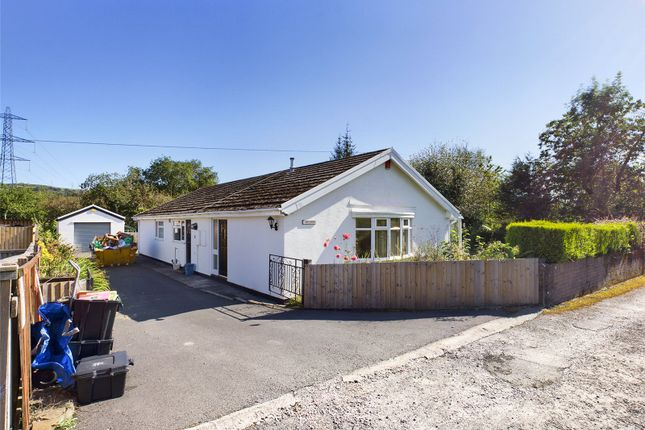 Thumbnail Bungalow for sale in Glynderus Close, Abercanaid, Merthyr Tydfil