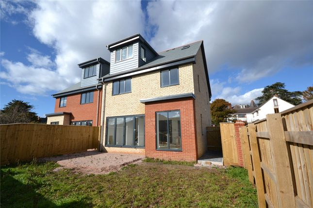 Thumbnail Detached house for sale in Cyprus Avenue, Exmouth, Devon