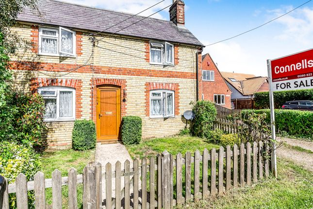 Thumbnail Semi-detached house for sale in Buckingham Road, Edgcott, Aylesbury