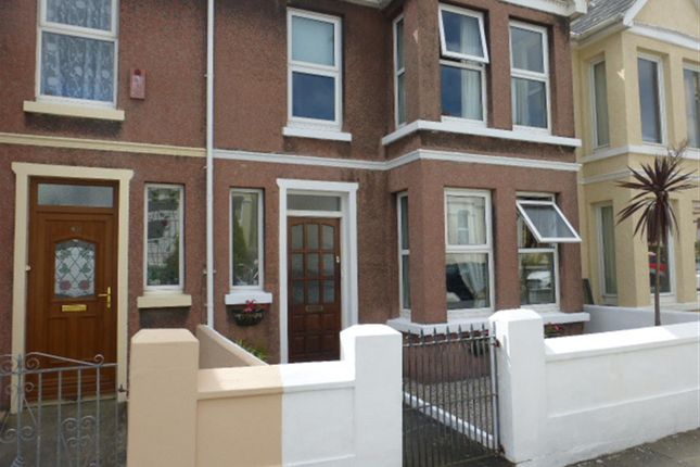 Thumbnail Terraced house for sale in Edith Avenue, Plymouth