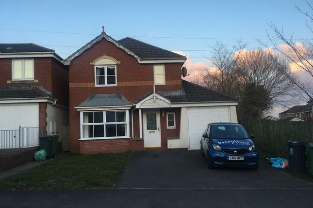 Thumbnail Detached house to rent in Youghal Close, Pontprennau