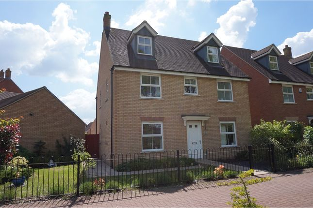 Thumbnail Detached house for sale in Anzio Road, Devizes