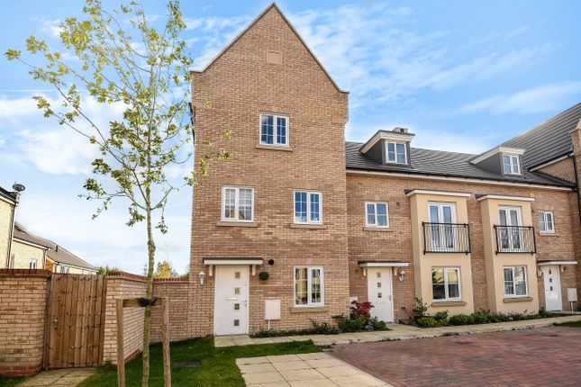Thumbnail End terrace house for sale in Buttercup Avenue, St. Neots, Cambridgeshire.