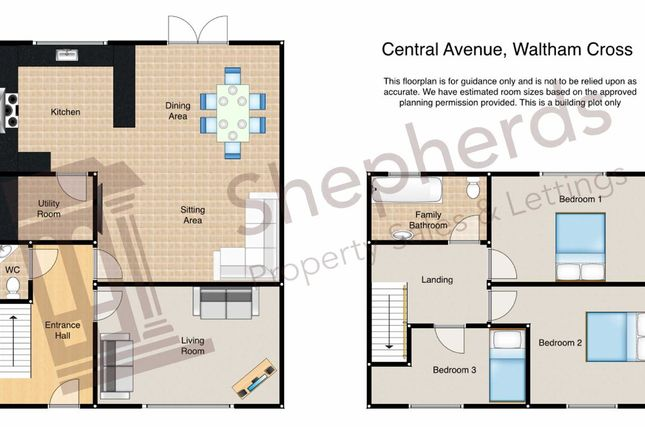 Thumbnail Land for sale in Central Avenue, Waltham Cross, Hertfordshire