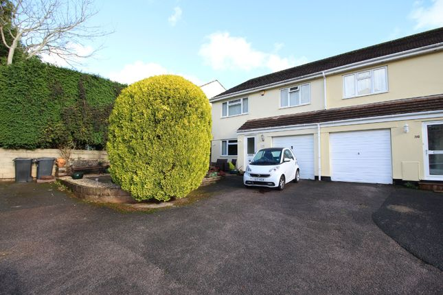 Thumbnail Semi-detached house for sale in Luscombe Road, Paignton