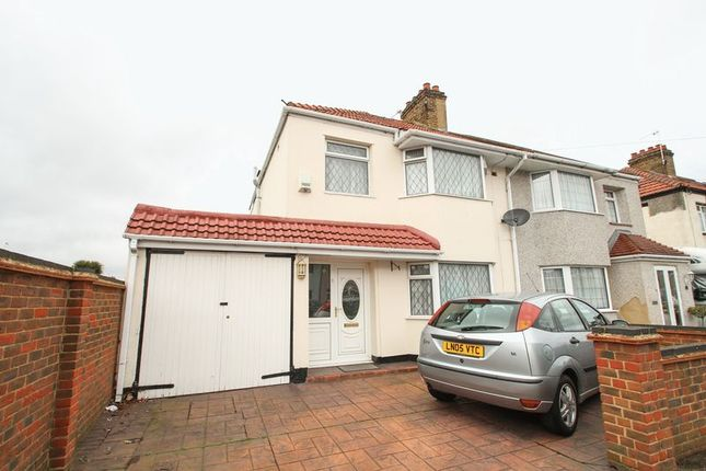 Thumbnail Semi-detached house for sale in Ivedon Road, Welling