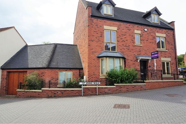 Thumbnail Detached house for sale in St. Johns Walk, Lawley Telford