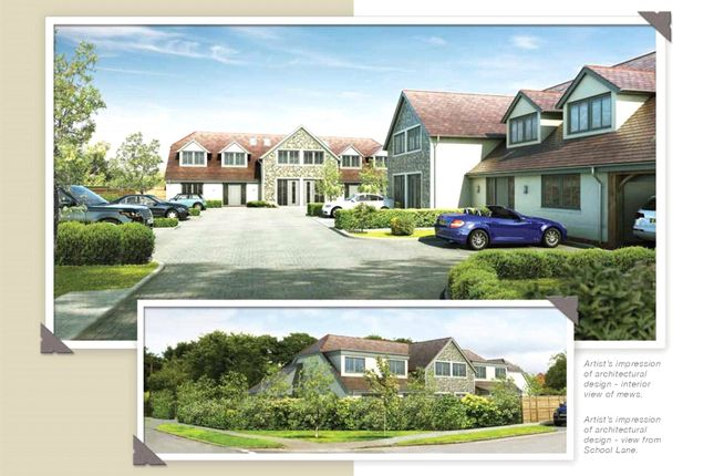 Thumbnail End terrace house for sale in Foxholme Close, Summersdale Road, Chichester, West Sussex