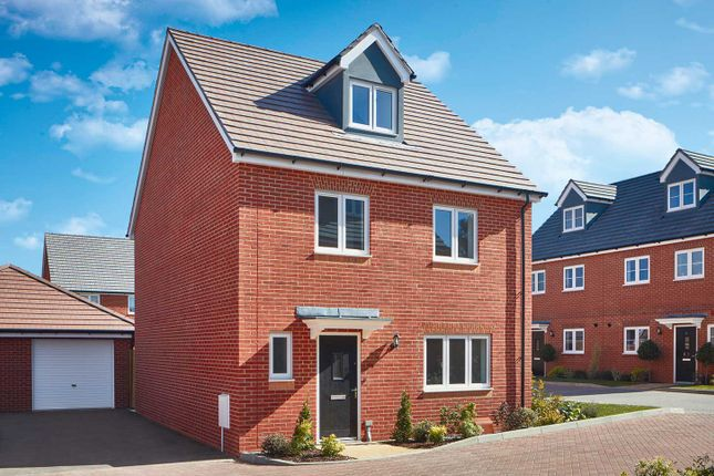 """Thumbnail Detached house for sale in """"The Ripley"""" at Wood Lane, Binfield, Bracknell"""