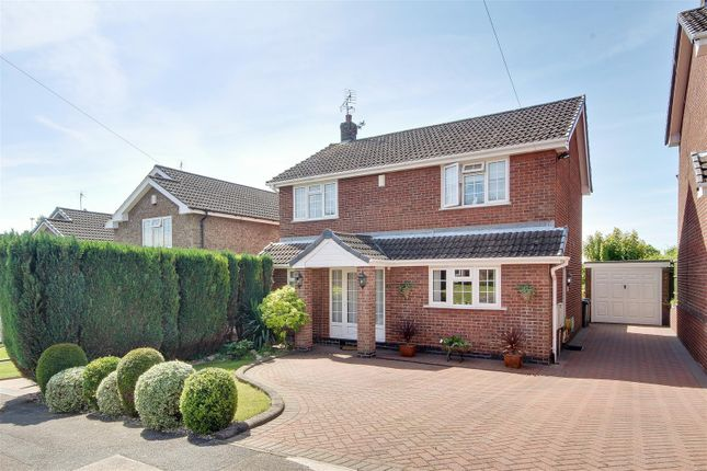 Thumbnail Detached house for sale in Pentwood Avenue, Redhill, Nottingham
