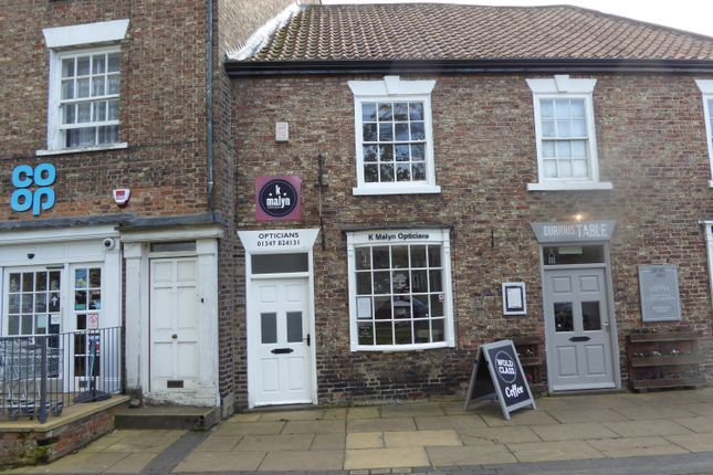 Thumbnail Retail premises to let in Shop Premises, Market Place, Easingwold, York