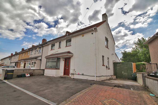 Thumbnail End terrace house for sale in Ravenglass Crescent, Southmead, Bristol