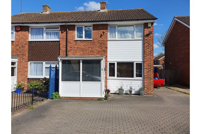3 bed semi-detached house for sale in Coniston Close, Gillingham ME7