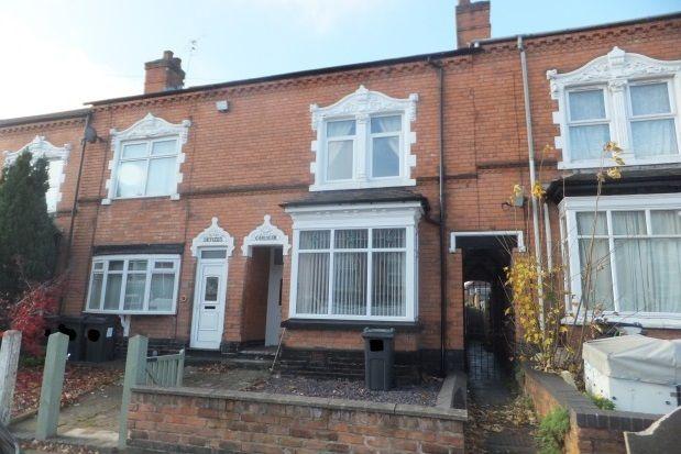 Thumbnail Property to rent in Edwards Road, Erdington, Birmingham