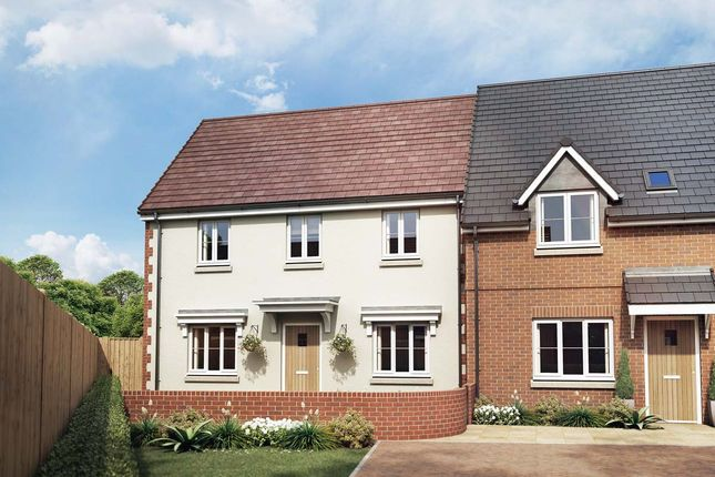 Thumbnail End terrace house for sale in The Peony, Owsla Park, Bloswood Lane, Whitchurch, Hampshire