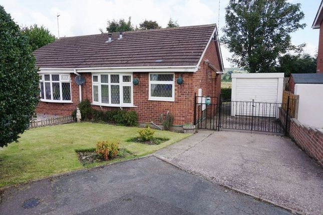Thumbnail Semi-detached bungalow to rent in Silsden Grove, Meir, Stoke-On-Trent