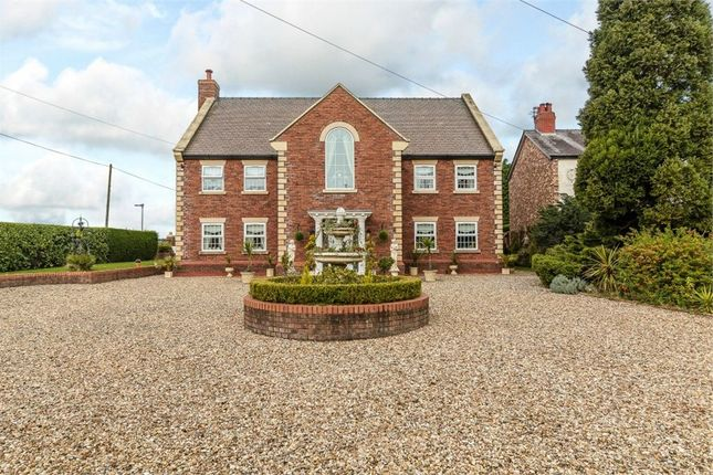 Thumbnail Detached house for sale in Newcastle Road, Astbury, Cheshire