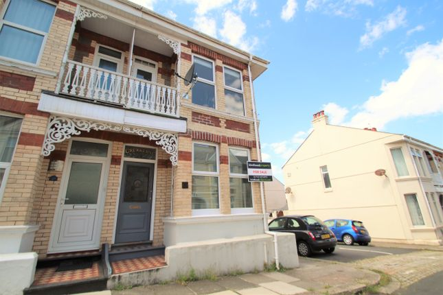 Thumbnail End terrace house for sale in Durban Road, Plymouth, Peverell