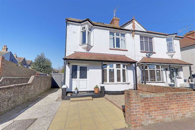 Thumbnail Semi-detached house for sale in Shandon Road, Broadwater, Worthing, West Sussex