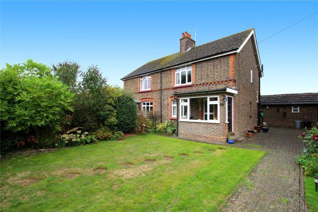 Thumbnail Semi-detached house for sale in Frant Field, Edenbridge