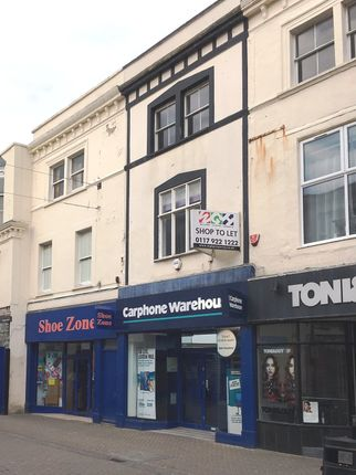 Thumbnail Retail premises to let in High Street, Weston Super Mare