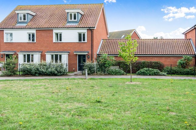 Thumbnail Detached house for sale in Brentwood, Eaton, Norwich