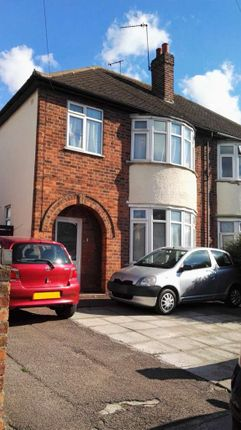 Thumbnail Semi-detached house to rent in Catherine Street, Leicester