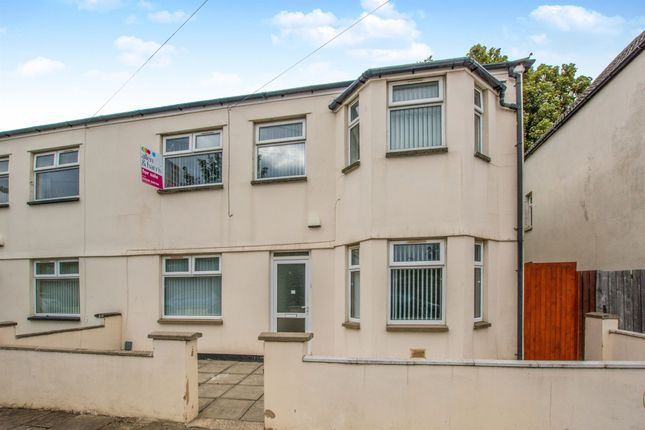 Thumbnail Semi-detached house for sale in Gordon Road, Roath, Cardiff