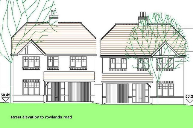 Thumbnail Land for sale in Rowlands Road, Birmingham, West Midlands